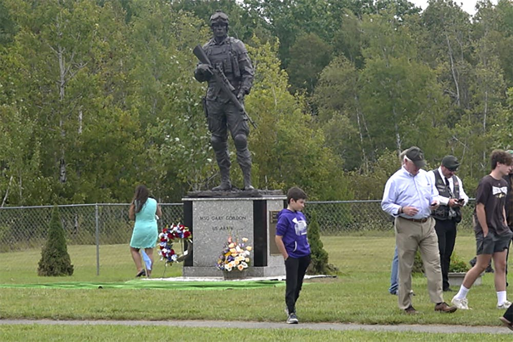 Delta Force sniper killed in Somalia is memorialized in his Maine hometown