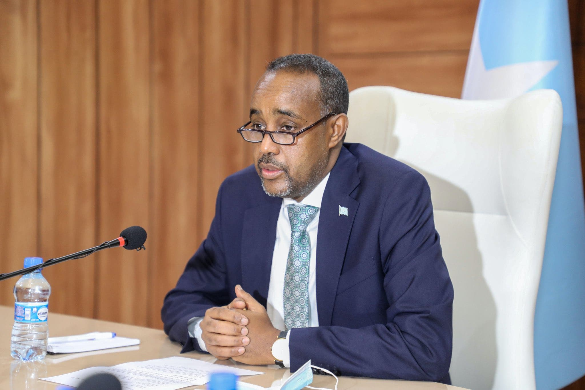 Somali PM rejects president's 'unlawful' suspension of powers
