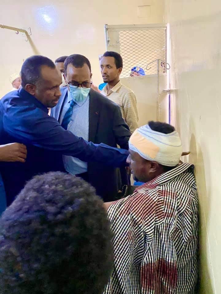 Xildhibaan reer Somaliland ah oo dhagax lagu dhaawacay