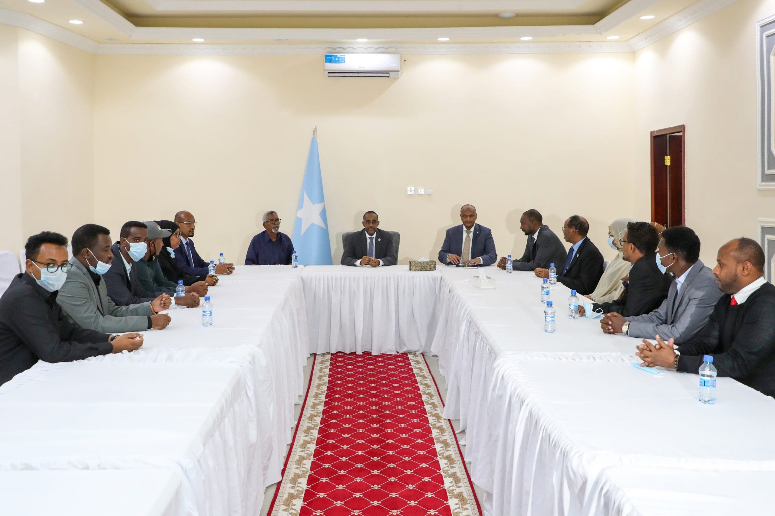 Daawo: Goorta la billaabayo doorashada Aqalka Sare ee Somaliland oo la shaaciyey