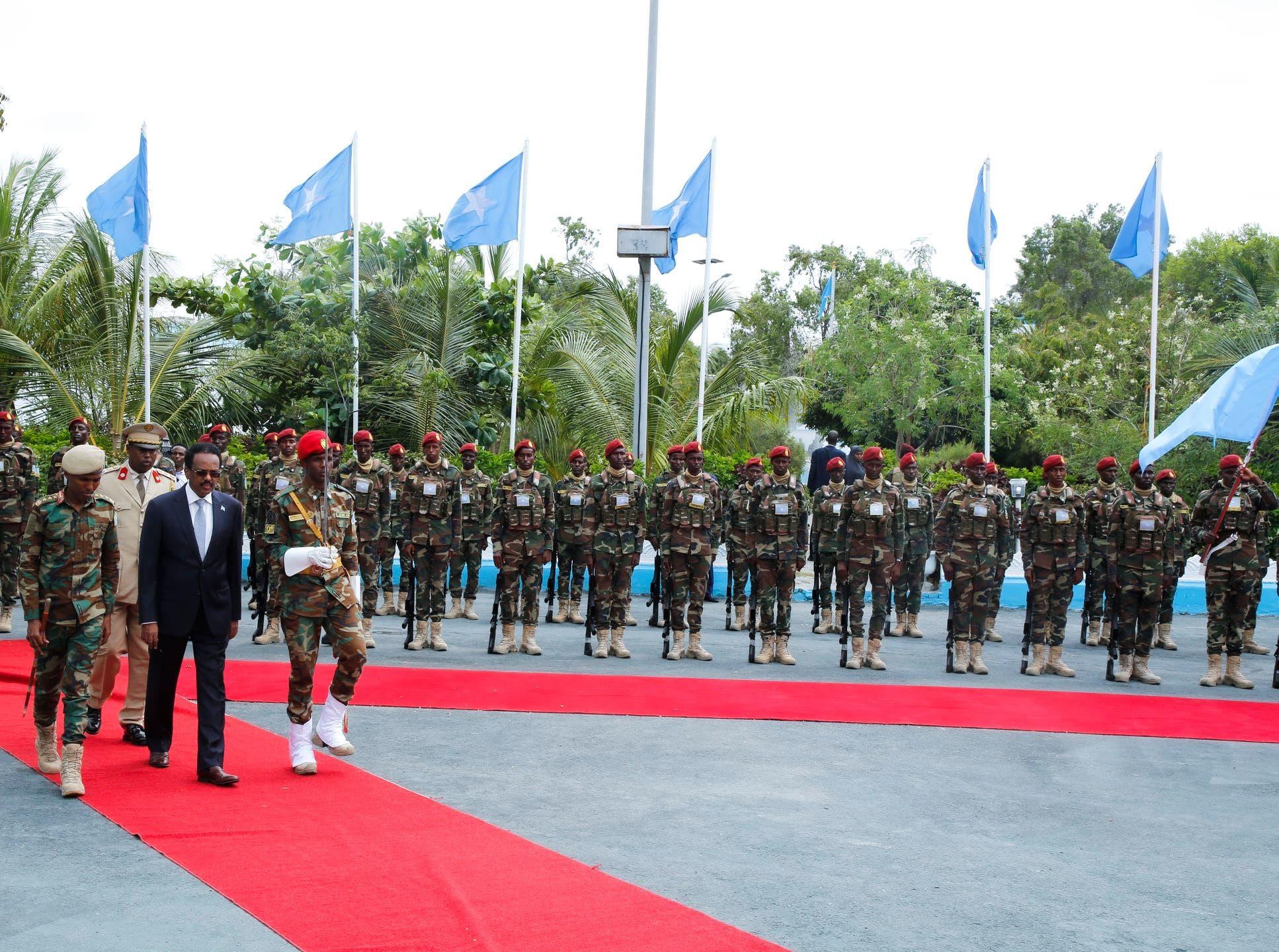 Farmaajo oo ka qeyb-galay munaasabad ka dhacday VILLA SOMALIA + Sawirro