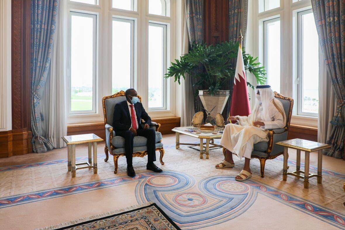 Maxaa kasoo baxay kulanii ra'iisul wasaare Rooble iyo amiirka Qatar? + Sawirro