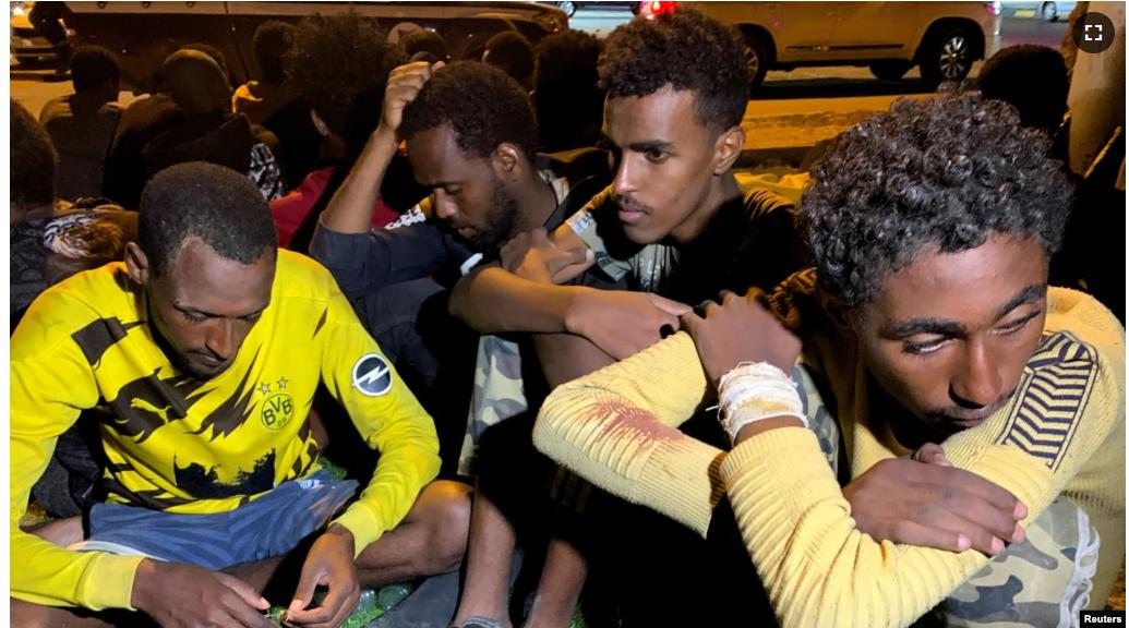 Wararkii ugu dambeeyey ee tahriibayaal lagu laayey xero ku taalla waddanka Libya